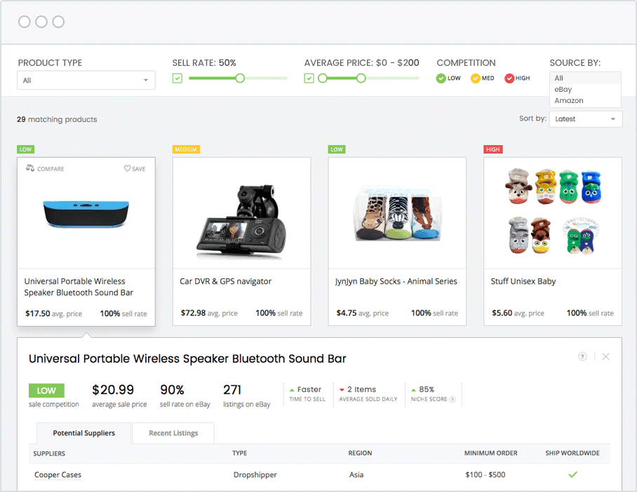 How To find high ticket items to DropShip - Salehoo Products