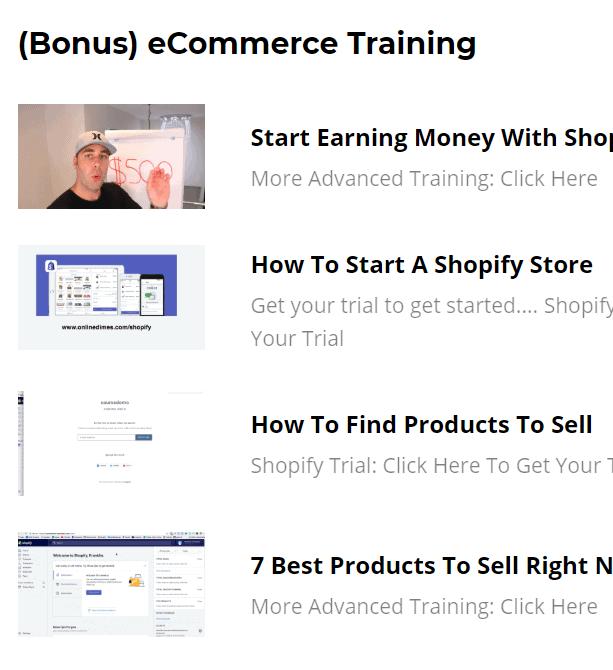 ecom turbo shopify theme review - ecom turbo bonus training
