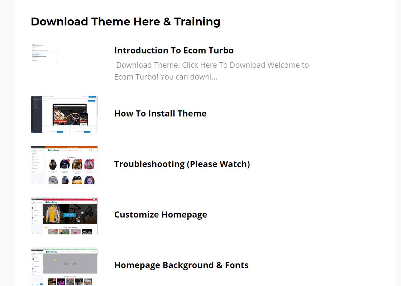 ecom turbo review - ecom turbo set up training
